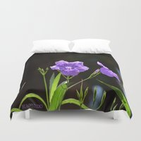 alone Duvet Covers featuring Alone by BeachStudio