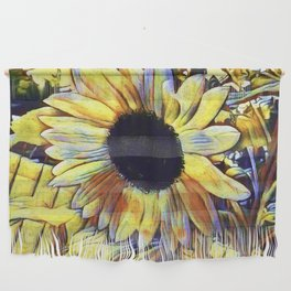 Sunflower After The Storm Wall Hanging