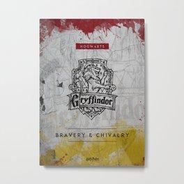 Gryffindor HP Metal Print