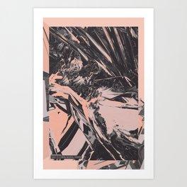Neon Butterfly stg 03 ACID Art Print