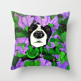 """Must Love Dogs"" Throw Pillow"
