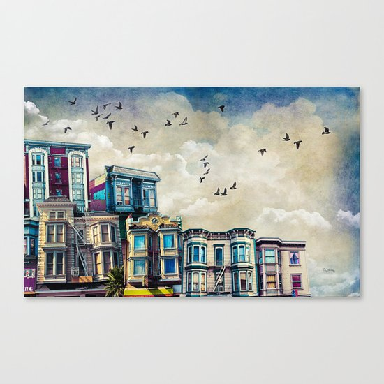 A Mission Street Canvas Print