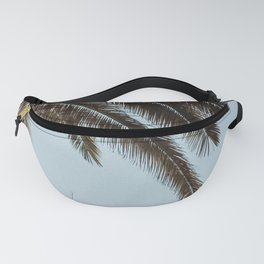 tropical palm leaves Fanny Pack