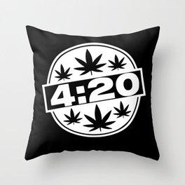 Kiffen Kiffen Gift 420 Stoner Kiffer Accessories Throw Pillow
