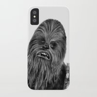 chewbacca iPhone & iPod Cases featuring Chewbacca by axemangraphics