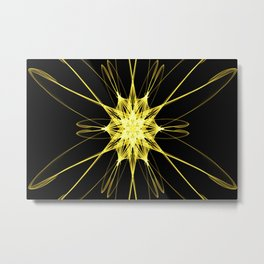Yellow Star DS150721a Metal Print