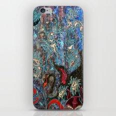 Obsidian night iPhone & iPod Skin