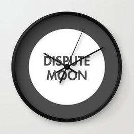 Dispute Moon (Celtic) Wall Clock