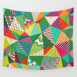 Patch Work Pattern. Wall Tapestry