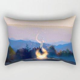 Skyfire Rectangular Pillow