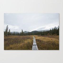 Road to Ergaki Canvas Print