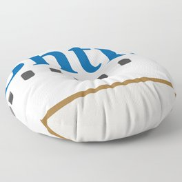 Plane Tees - Continental Airlines Floor Pillow