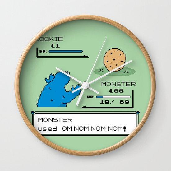 Cookiemon Wall Clock