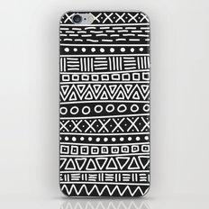 Geometric Doodle Plaid iPhone & iPod Skin