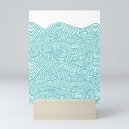 Waves Mini Art Print