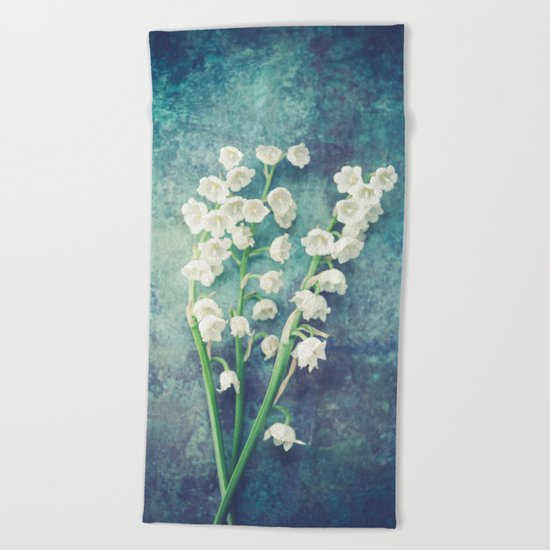 Lily Of The Valley II Beach Towel