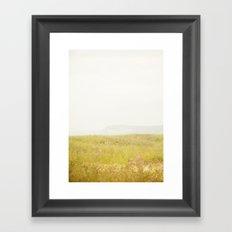 Wild Flowers Lake Michigan South Manitou Framed Art Print