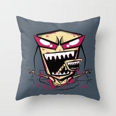 Chest burst of Doom Throw Pillow