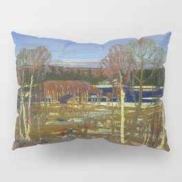 Tom Thomson Larry Dickson's Cabin 1917 Canadian Landscape Artist Pillow Sham