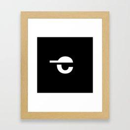 chilldren symbol Framed Art Print