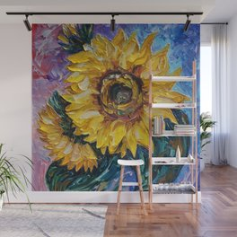 That Sunflower From The Sunflower State Wall Mural
