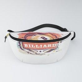 Retro Billiard gift for Billiard Player Fanny Pack