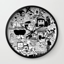KIDS DOOM Wall Clock