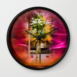 Winter Garden in the old WTC Wall Clock