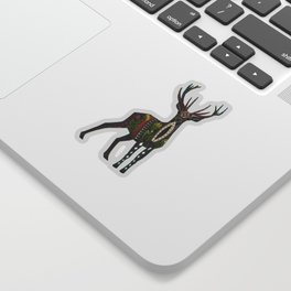 deer vanilla Sticker