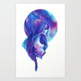 Broken stars Art Print