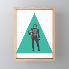 Princess Warrior Framed Mini Art Print