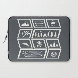 Camping [Reversed] Laptop Sleeve