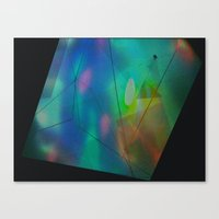 hologram Canvas Prints featuring Hologram by crystal palace