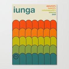 iunga single hop Canvas Print