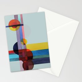 expo 68 (turquoise) Stationery Cards
