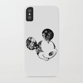 Mickey Grunge iPhone Case