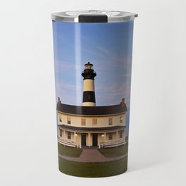 Bodie Island Lighthouse at Sunset Travel Mug