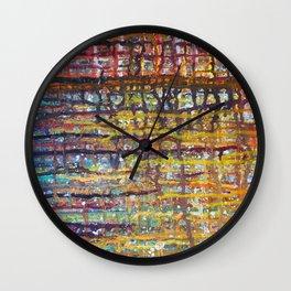 Interactions Wall Clock