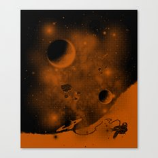 Lost in Negative Space Canvas Print