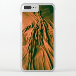 Red River Bed Clear iPhone Case