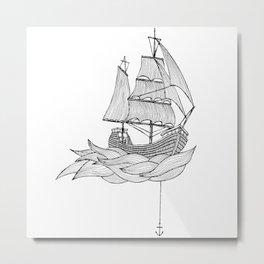 The ship Metal Print