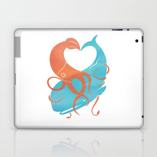 Hug It Out Laptop & iPad Skin