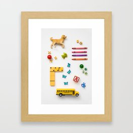 Kids' Stuff Framed Art Print