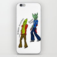 led zeppelin iPhone & iPod Skins featuring Led Zep by Pattavina