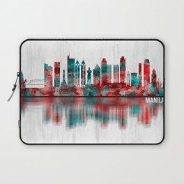 Manila Philippines Skyline Laptop Sleeve