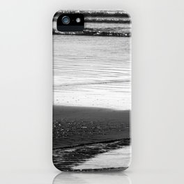 Standoff At The Beach iPhone Case