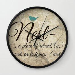 Nest Wall Clock