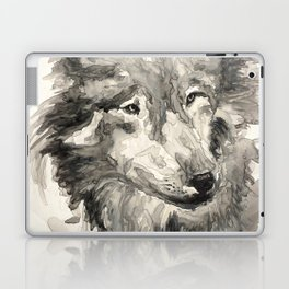 Gray Wolf Laptop & iPad Skin