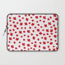 Canada Maple Leaf-White Laptop Sleeve
