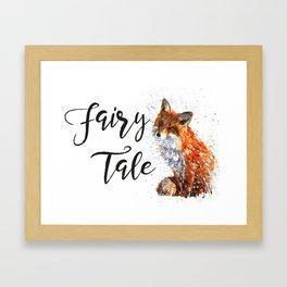 Fox Fairy Tale Framed Art Print
